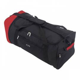 "Azur Сумка дорожная ""Foldable Extralight 87"" (Black/Red) * 922574"