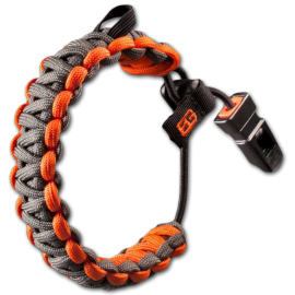"Gerber Браслет ""Bear Grylls Survival bracelet"" (black-orange) * 31-001773"