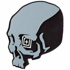 "5.11 Нашивка ""Skull Shot Patch"" (Grey) * 81010-288"