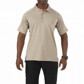 "5.11 Поло тактическое ""Performance Polo- Short Sleeve, Synthetic Knit"" (Silver Tan) * 71049-160"