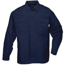"5.11 Рубашка тактическая ""Tactical TDU Shirt - Long Sleeve, Ripstop"" (Dark Navy) * 72002-724"