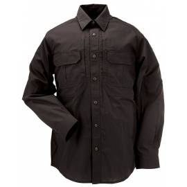 "5.11 Рубашка тактическая ""Tactical Taclite Pro Long Sleeve Shirt"" (Black) * 72175-019"