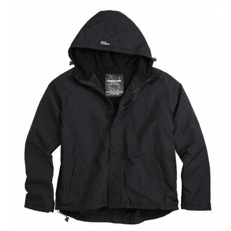 "SURPLUS Куртка-анорак ""ZIPPER WINDBREAKER"" (Black) * 20-7002-03"