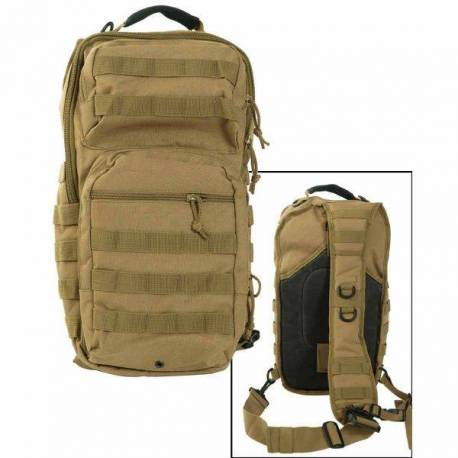 "Mil-Tec Рюкзак однолямочный ""One Strap Assault Pack LG"" (Coyote) * 14059205"