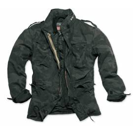 "Surplus Куртка ""REGIMENT M65 JACKET"" (Washed black camo) * 20-2501-42"