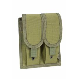 "P1G-TAC Подсумок для магазинов AK/M4 MOLLE ""Rifle Mag`s Covered Pouch"" (Olive Drab) * P020000OD"
