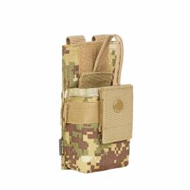 "P1G-TAC Подсумок для рации малый MOLLE ""Small/Medium Radio Pouch"" (SOCOM Camo) * P101097SOC"
