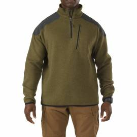 "5.11 Термореглан ""Tactical 1/4 Zip Sweater"" (Field Green) * 72405-206"