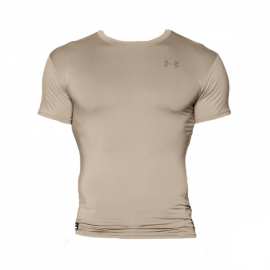 "Under Armour Футболка ""Tactical HeatGear® Compression Short Sleeve T-Shirt"" (TAN) * UA-1216007TAN"