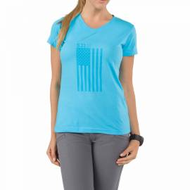 "5.11 Футболка женская ""Women's Tonal Glory T-Shirt"" (Light Blue) * 31004AL-670"