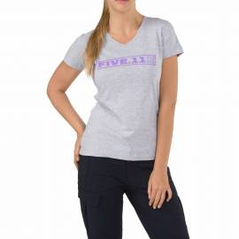 "5.11 Футболка женская ""Drill Master T-Shirt - Women`s"" (Heather Grey) * 31004AH-016"