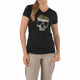 "5.11 Футболка женская ""Skull Caliber T-Shirt - Women`s"" (Black) * 31004AP-019"