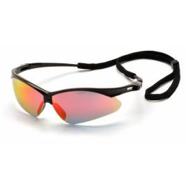 "Pyramex Очки защитные ""PMXtreme"" black frame, ice orange mirror lens (Black) * GL-PMX-IOL"